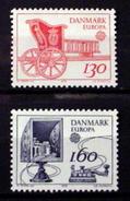 DENMARK # 651-652.   EUROPA - Communication.  MNH (**) - Denmark