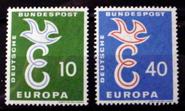 GERMANY # 790-791.   EUROPA - European Postal Service.  MNH (**) - [7] Federal Republic