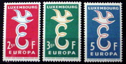 LUXEMBOURG # 341-343.   EUROPA - European Postal Service.  MNH (**) - Unused Stamps