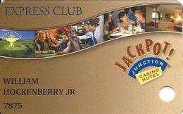 Jackpot Junction Casino Morton MN - Express Club Slot Card - Casino Cards