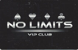 Seabrook Greyhound Park - Seabrook, NH USA - No Limits VIP Club Racetrack Poker Room Card - Casino Cards