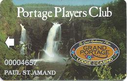 Grand Portage Casino - Grand Portage, MN USA - Slot Card With White Arrow - Casino Cards