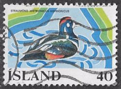 Iceland SG555 1977 European Wetlands Campaign 40k Good/fine Used [10/26131/6D] - Used Stamps