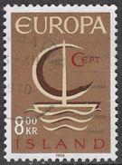 Iceland SG437 1966 Europa 8k Good/fine Used [34/29240/6D] - 1944-... Republik