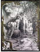 MARRACHE : Univers Parallèles  [ Femme Nu érotisme CPM ] CT070 - Paintings