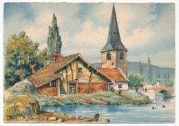 10 Cartes Signées BARDAY - Paysages Divers, éditions Barré-Dayez, époque 1945 - Barday