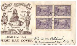 (170) Cover Canada Bird - 1949 - Halifax - 1937-1952 Regno Di George VI
