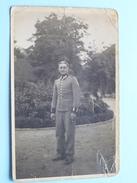 Soldaat In Uniform / Soldier / Militaire ( DUITS / GERMAN ) ( Gekreukt / Zie Foto's ) ! - Guerre, Militaire