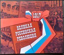 Russia, 2017, The 100th Anniv. Of The Russian Revolution, Booklet - Nuevos