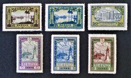 EMISSIONS 1932 - NEUFS * - YT 303/10 - MI 316/23 - MI 316A/23A - Lithuania