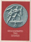 DR - Nürnberg 1938 Reichsparteitag, Propagandakarte/Festpostkarte M. SST - Storia Postale