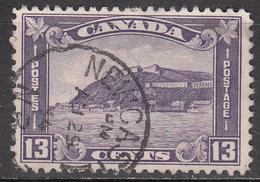 CANADA   SCOTT NO. 201    USED    YEAR  1932 - 1911-1935 Règne De George V
