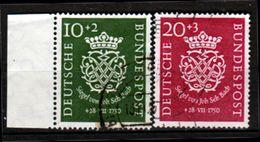 Germania-00032 - 1950 - Unificato N. 7, 8 (o) Used - Senza Difetti Occulti - - Usati