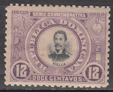 DOMINICAN REPUBLIC       SCOTT NO. 148      MINT HINGED      YEAR  1902 - Dominican Republic