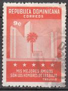 DOMINICAN REPUBLIC       SCOTT NO. 552      USED     YEAR  1961 - Repubblica Domenicana