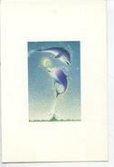 Ponnie Et Willy Au Clair De Lune - Crayon Alain Large (illustrateur) Aquarupella N°2582 - Dauphins