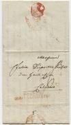 PARIS An 12 Postes Corps Législatif 3.8.1804 Sénéchal N° 1540 - Marcophilie (Lettres)