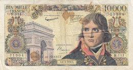 Billet 10000 F Bonaparte Du 6-3-1958 FAY 51.11 Alph. R.111 - 1871-1952 Anciens Francs Circulés Au XXème