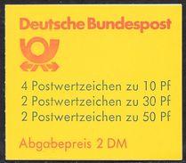 Bund 1992 / MiNr.  MH 22 II Am K1  OZ    Mit  H-Blatt  27 II V    ** / MNH    (mh1103) - [7] République Fédérale