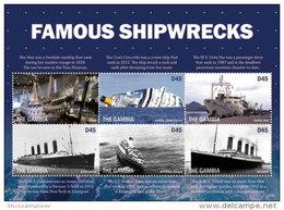 Gambia-2016-ships Famous Shipwrecks Pearl Harbour - Ships