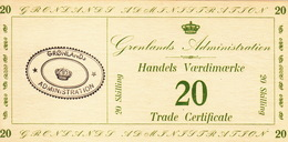 * GREENLAND 20 SKILLING ND (1942) P-M10 UNC [GL407b] - Greenland