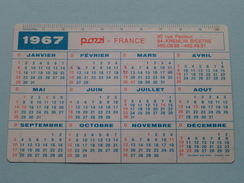 POZZI France Appareils Sanitaires - Carrelage KREMLIN Bicetre : Anno 1967 ( Zie Foto´s Voor Detail ) ! - Calendarios