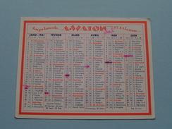 Imprimerie A. WATON St. Etienne Typographie Offset Cartonnages Lithographie ... : Anno 1961 ( Zie Foto´s Voor Detail ) ! - Petit Format : 1961-70