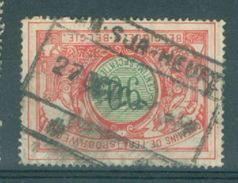 """BELGIE - OBP  TR 40 - Cachet  """"HAM-SUR-HEURE"""" - (ref. 14.256) - Chemins De Fer"""