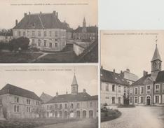 17 / 7 / 449  -    LOT  DE  9  CPA  DE  L'ABBAYE  DES  BÉNÉDICTINES   -  JOUARRE ( 77 ) - Cartes Postales