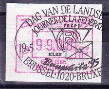 BELGIQUE COB ATM 91 BRUPHILA 1995, 99 Fr OBL  . (7A96B) - Frankeervignetten