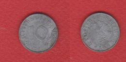 Allemagne / 10 Reichspfennig 1943 G  / KM 101 / TB+ / RARE - [ 4] 1933-1945 : Tercer Reich