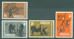 Rhodesia: 1967   Nature Conservation  MNH - Rodesia (1964-1980)