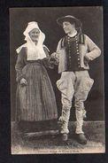 Folklore / Région Bretagne / La Gavotte / Costumes Anciens De Nevez Et Scaer - Bretagne