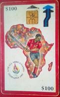 Zimbabwe Phonecard $100 Africa Games - Zimbabwe