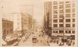 ¤  -  ETAT-UNIS  -  SEATTLE  -  Carte-Photo  -  Second Avenue Looking N   -  ¤¤ - Seattle