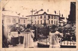 88 RARE GRANGES SUR VOLOGNE 28 FEVRIER 1937 L HOMMAGE AUX MORTS / MONSEIGNEUR MARMOTTIN LES CHANOINES THOMAS PERRIN - Granges Sur Vologne