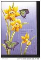 GRENADA  &  1833  MINT NEVER HINGED SOUVENIR SHEET OF FLOWERS - ORCHIDS   #  313-3   ( - Végétaux