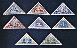 SUJETS HISTORIQUES 1932 - NEUFS * - YT PA 68/75 - MI 348A/55A - Lithuania