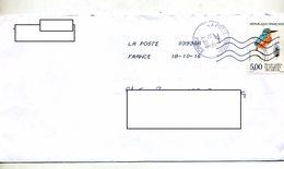 Lettre Flamme Chiffree Cachet Poste 03930A Sur Martin Pecheur - Marcophilie (Lettres)