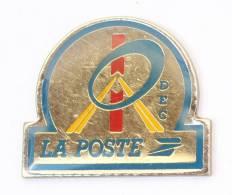 Pin's LA POSTE - DEC - Le Logo - G564 - Mail Services