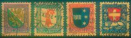Nr. 218 - 221 Pro Juventute 1926 Michel 20 € - Pro Juventute