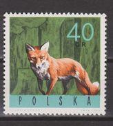 Polen, Poland, Pologne, Polska Gestempeld, MNH ; Vos, Fox, Reinard, Zorro NOW MANY ANIMAL STAMPS FOR SALE - Autres