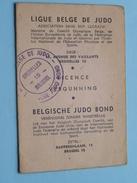 Ligue BELGE De JUDO Belgische Bond Vergunning / Licence 1965/66 Judo Club ARLON (Jouret / Voir Photo Pour Detail Svp ) ! - Martial Arts