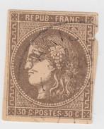 CERES DE BORDEAUX N° 47   A4 - 1870 Emisión De Bordeaux