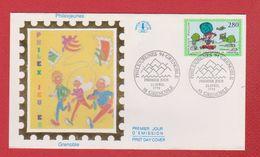 Enveloppe Premier Jour  / Philexjeunes / Grenoble  / 22-04-1994 - 1990-1999