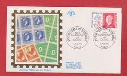 Enveloppe Premier Jour  / Journée Nationale Du Timbre / Paris  / 12-03-1994 - 1990-1999
