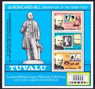 Tuvalu 1979 Sir Rowland Hill M/s ** Mnh (F6566) - Tuvalu