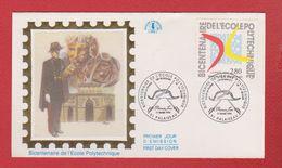 Enveloppe Premier Jour  / Bicentenaire De L'Ecole Polytechnique / Palaiseau  / 11-03-1994 - 1990-1999