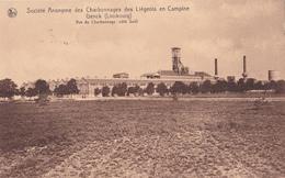Société Anonyme Des Charbonnages Des Liégeois En Campine Genck (Limbourg) - Vue Du Charbonnage (côté Sud) - Limbourg
