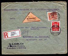 A4745) DR R-Nachnahme-Brief Von Arendsee 15.4.25 - Deutschland